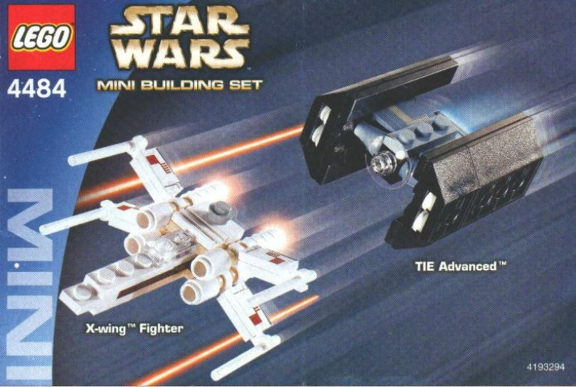 Mini X Wing Fighter 4484 Lego Instructions Old Instructionsold