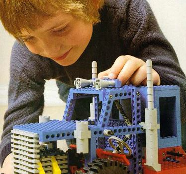 1x Lego Technic Building Instruction A4 Idea Book Ideas Book 8889