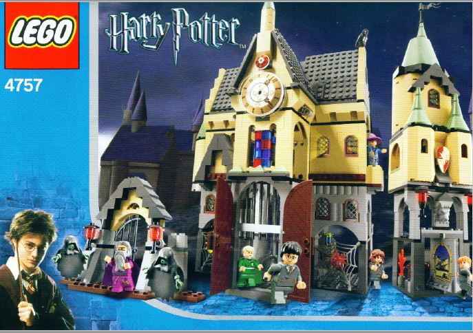 Hogwarts Castle 4757 Lego Instructions Old Instructionsold