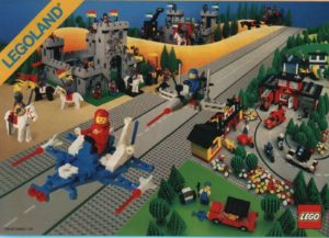 USA 1984, 1985, 1986 and 1987 - Lego Catalogues - Old